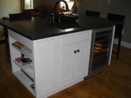 Craftsman Insert Richmond Maple Painted White