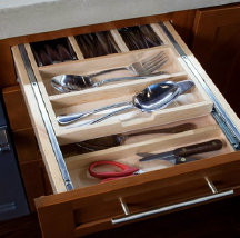 Two Tiered Cutlery Divider